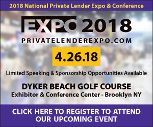 2018 National Private Lender Expo & Conference